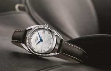 浪琴手表的广告语是什么?