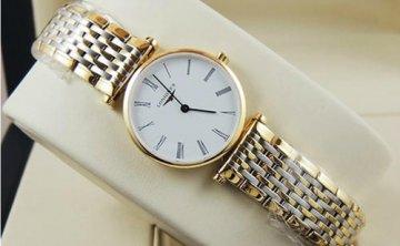 浪琴手表怎么调时间?