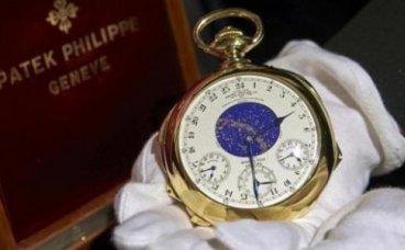 百达翡丽最贵的手表多少钱?